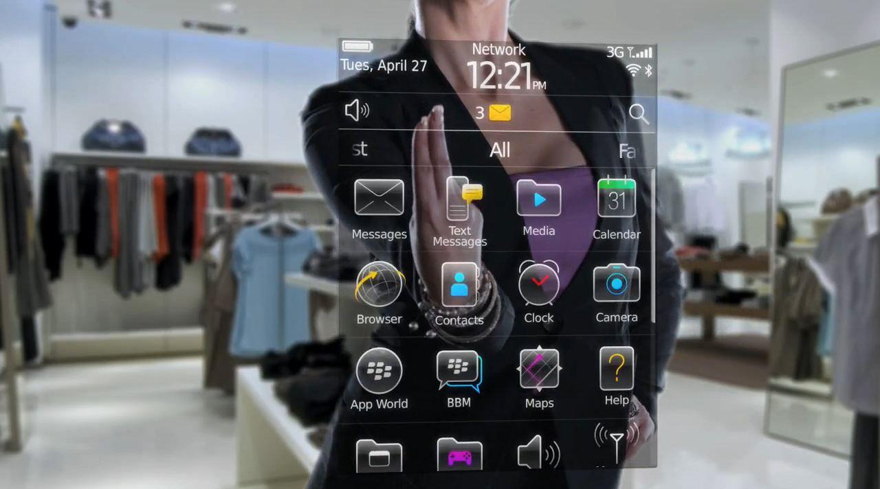 SCREENSHOT Blackberry OS6
