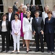 Kabinett Sarkozy: Die Damen setzen sich durch - soweit der Übervater es zulässt