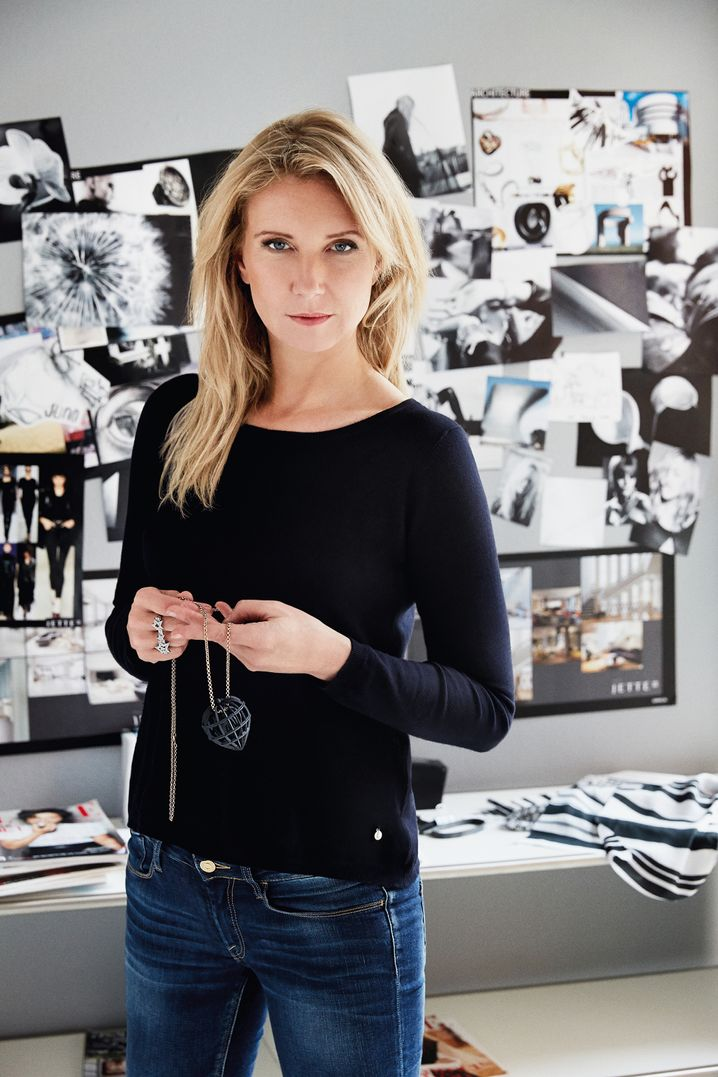 Designerin Jette Joop