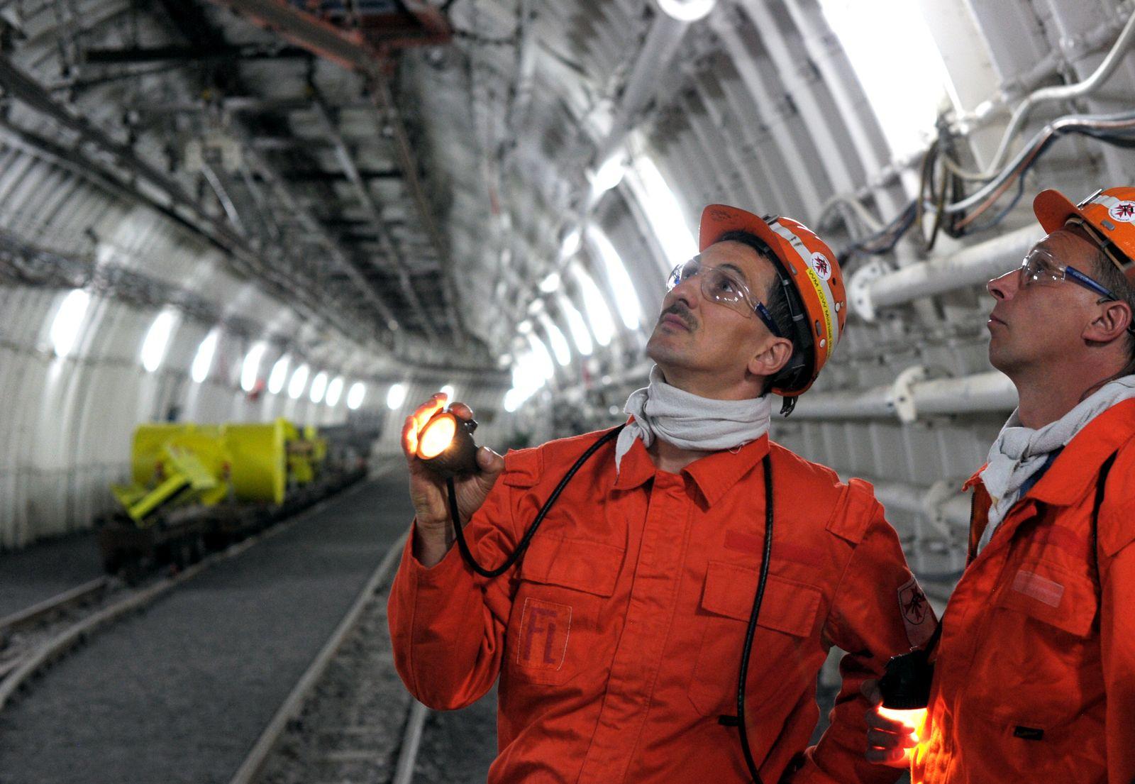 Bottroper Zeche eröffnet letztes Bergbau-Großprojekt