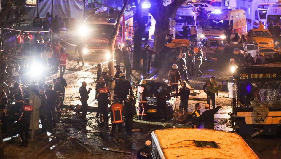 Nach Anschlag in Ankara: Erdogan kündigt entschlossenen Kampf gegen Terroristen an