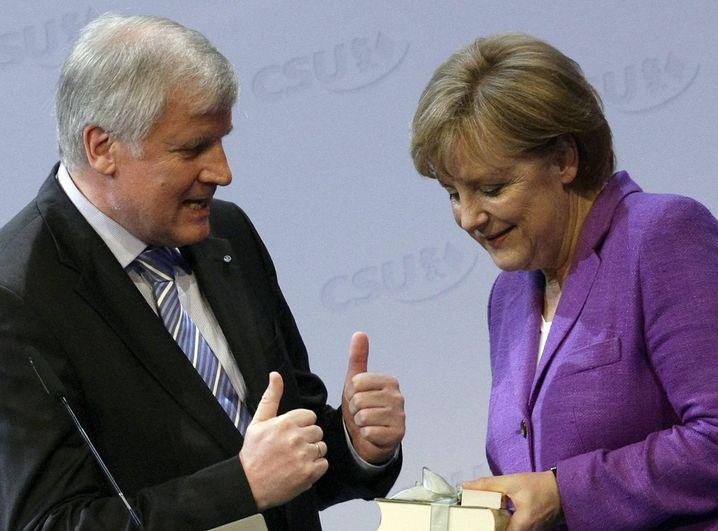 Horst Seehofer und Angela Merkel: Im Wahljahr nichts riskieren