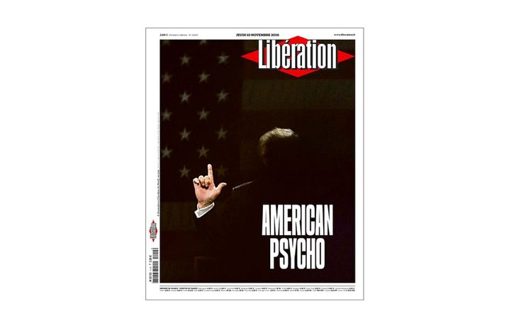Tuesday's front page of French daily Libération
