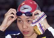 Eine von Chinas Doping-Sündern: Wu Yanyan wurde im Juli für vier Jahre gesperrt
