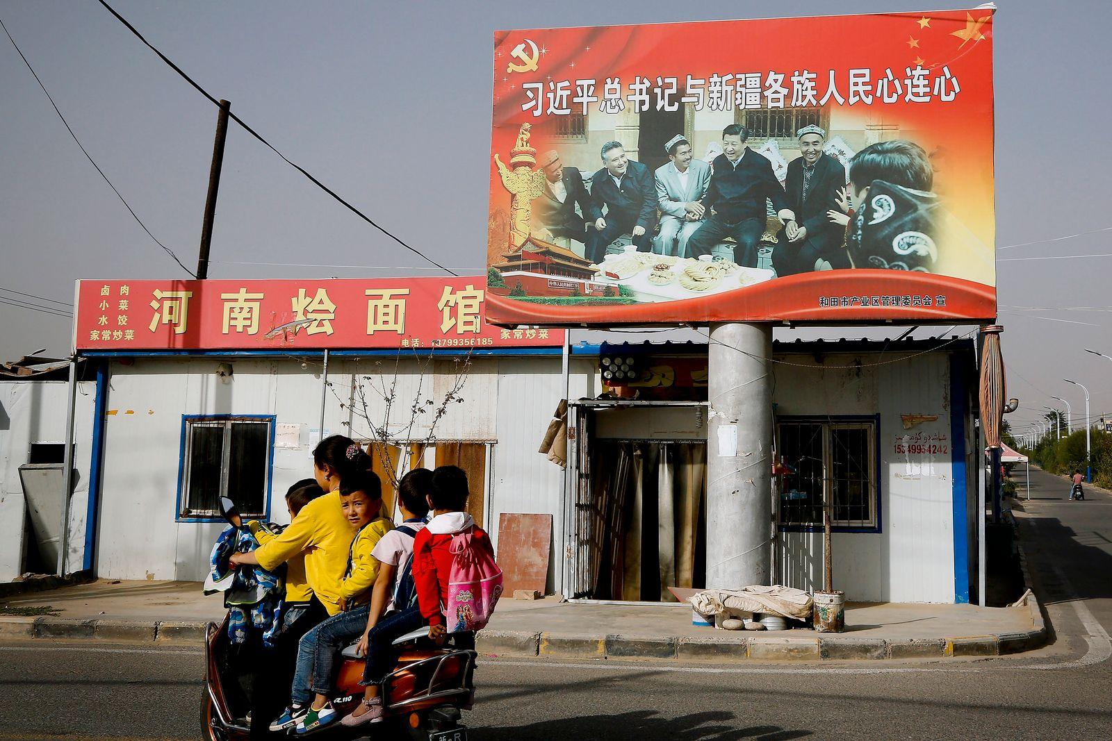 Sanktionen gegen China wegen Menschenrechtsverletzung