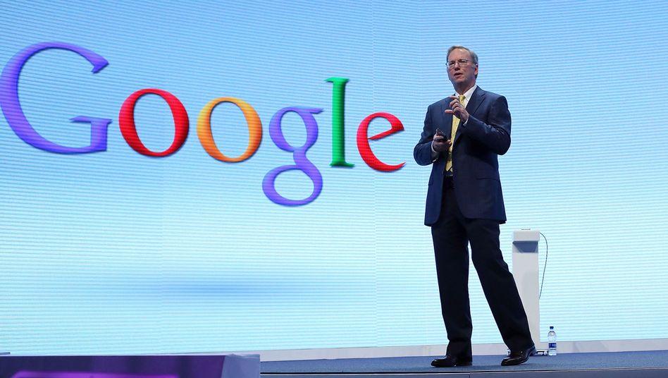 Google-Logo: Einige Verleger in Frankreich hätten gerne Geld von Suchmaschinen-Riesen