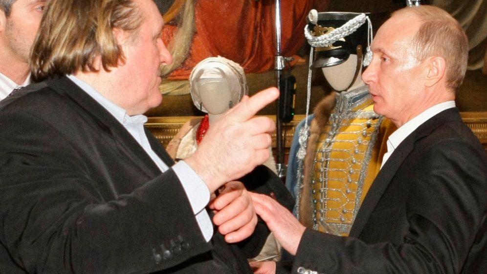 """Depardieu und Russland: """"Eine große Demokratie"""""""
