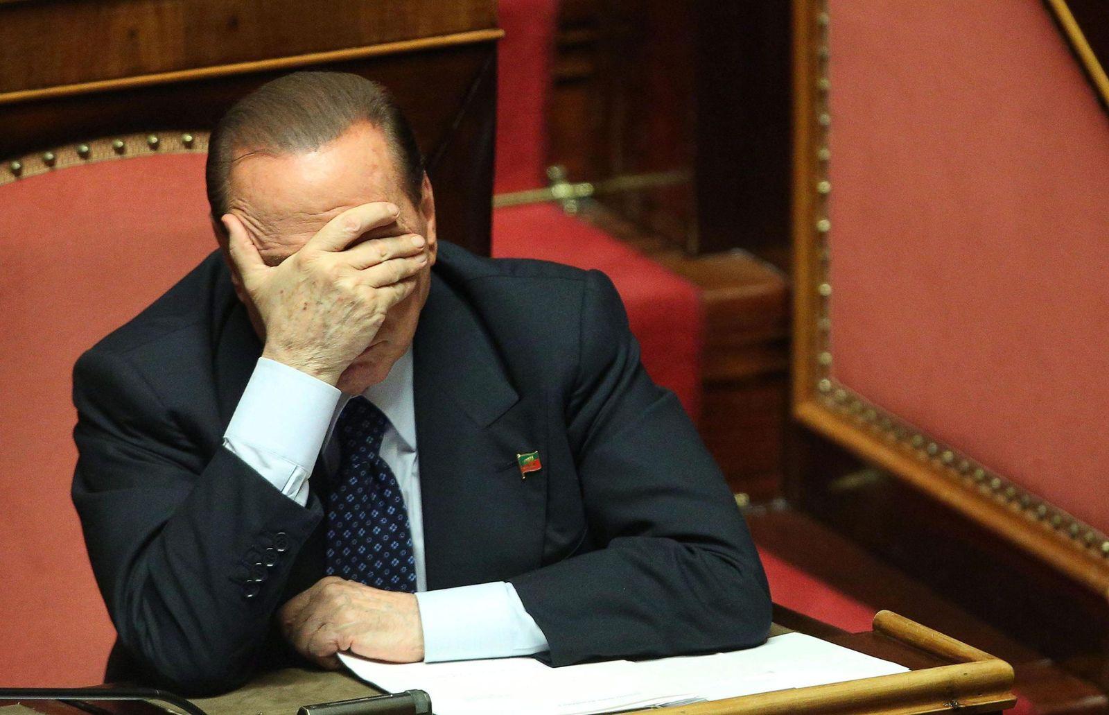 Berlusconi/ Senat