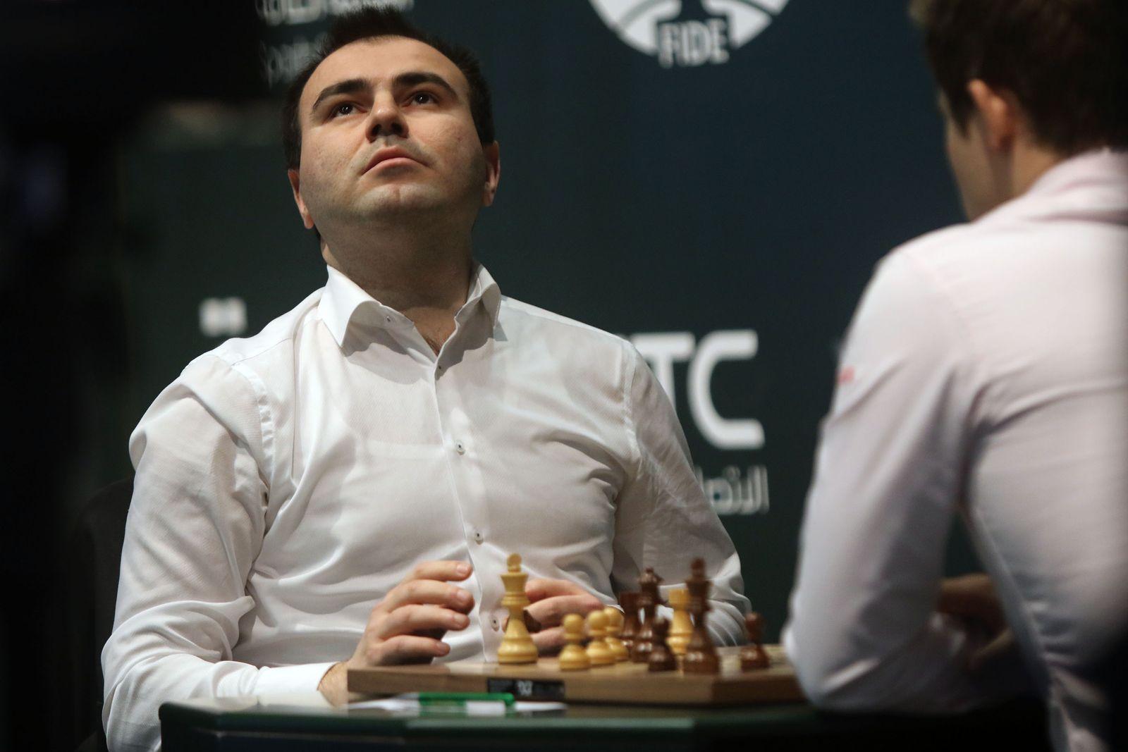Schach/ Shakhriyar Mamedyarov