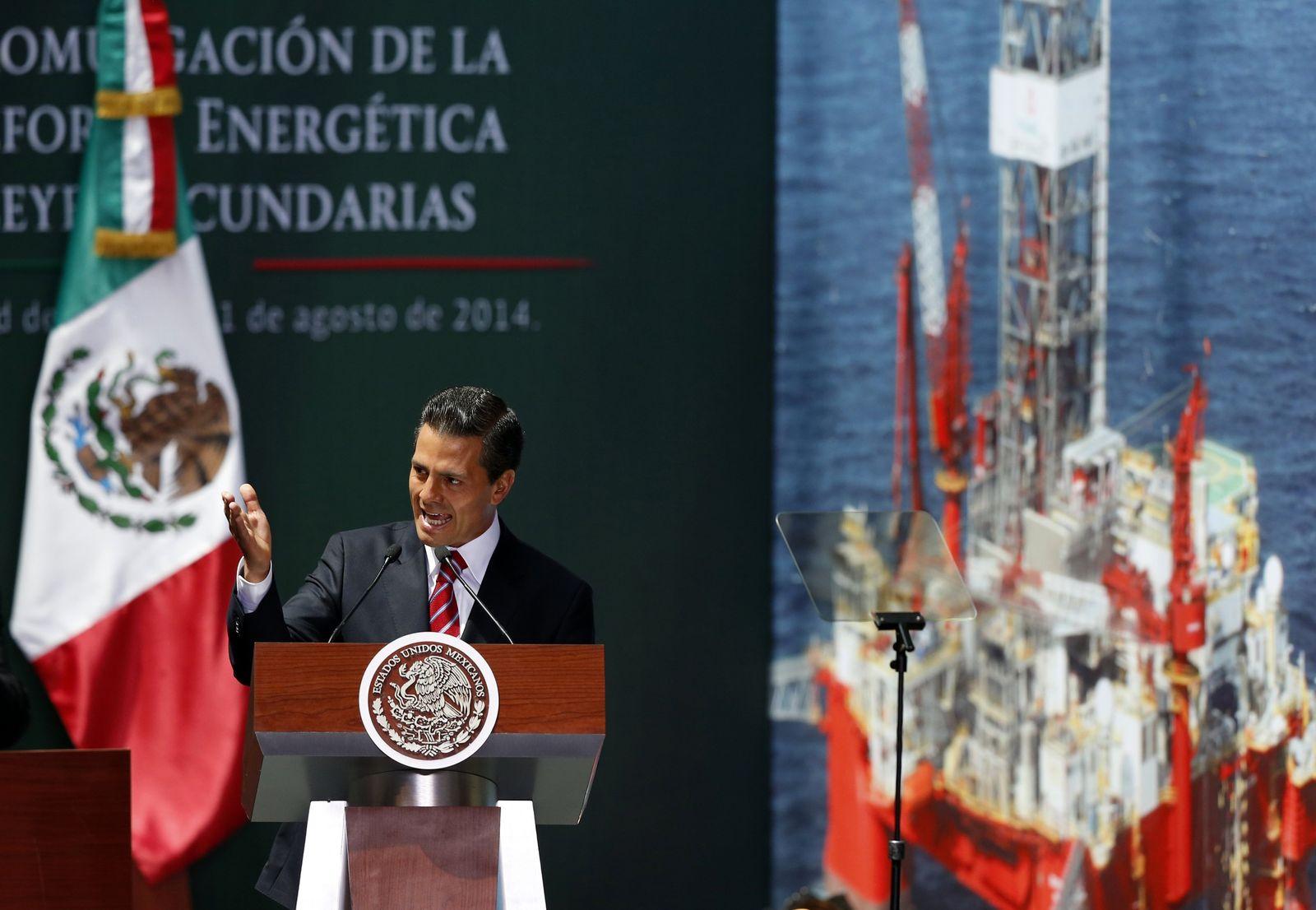 Mexicos Präsident Enrique Pena Nieto