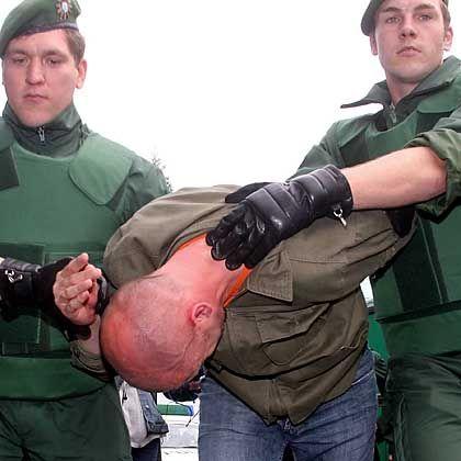 Polizeieinsatz: Extrem aggressive Atmosphäre