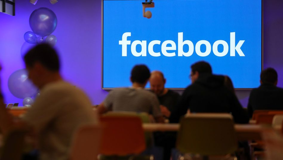 Facebook-Kantine in London