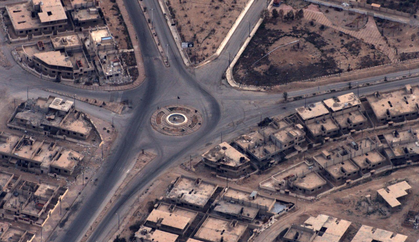EINMALIGE VERWENDUNG Syrien/ Aufklärungsbild