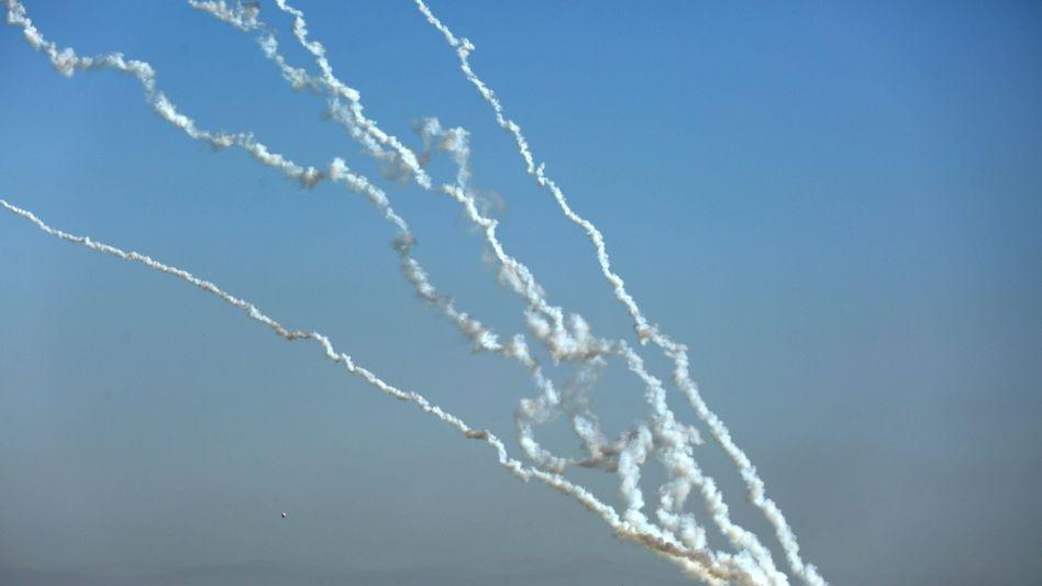 Raketenabschüsse im Gazastreifen
