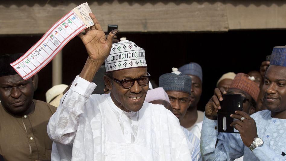 """Herausforderer Buhari: """"Ich denke, er räumte die Niederlage ein"""""""