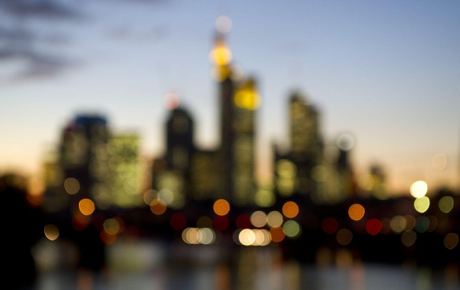 Bankentürme von Frankfurt am Main