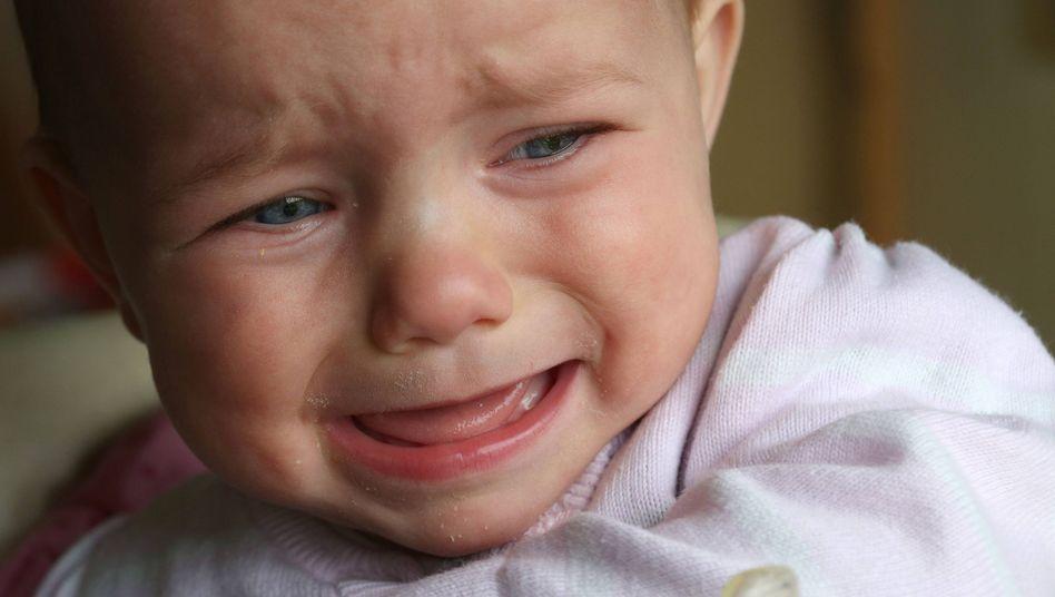 Weinendes Baby (Symbolbild)
