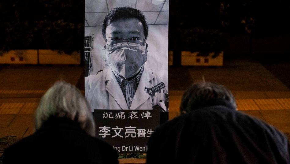 Li-Memorial in Hongkong:»Möge es im Himmel keine Lügen geben«