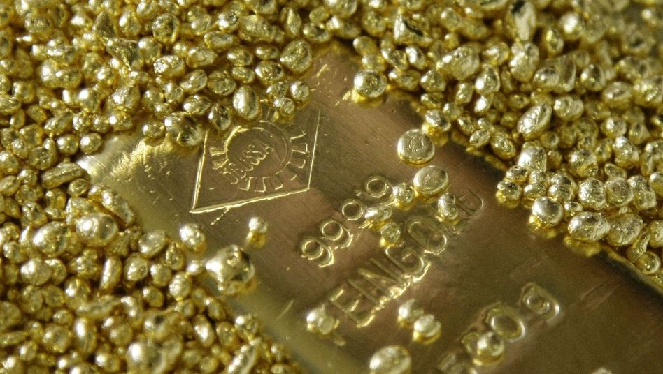 """Goldbarren und Granulat: """"Für die, die an die totale Krise glauben, ist Gold richtig"""""""