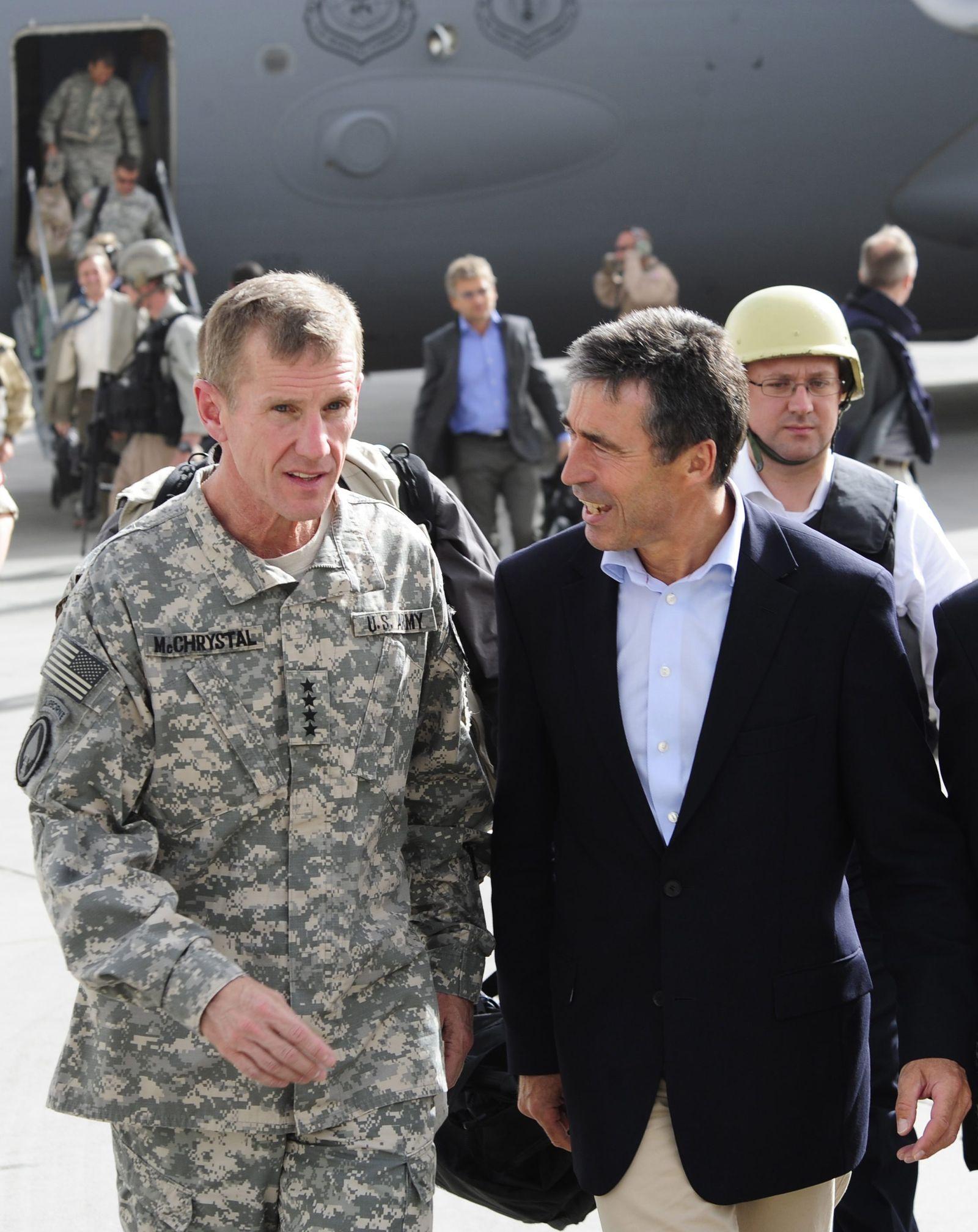 NATO-Generalsekretär Rasmussen in Afghanistan