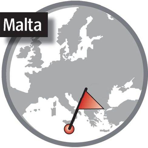 Malta: Nah am Italien-Stiefel