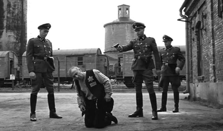 """Filmszene aus """"Schindlers Liste"""" aus dem Jahr 1993"""