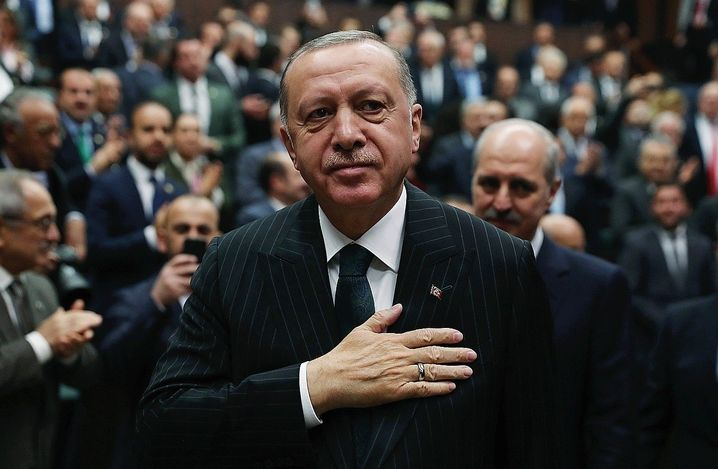 Turkish President Recep Tayyip Erdogan: Some 13,000 people are currently trapped between Turkey and Greece.