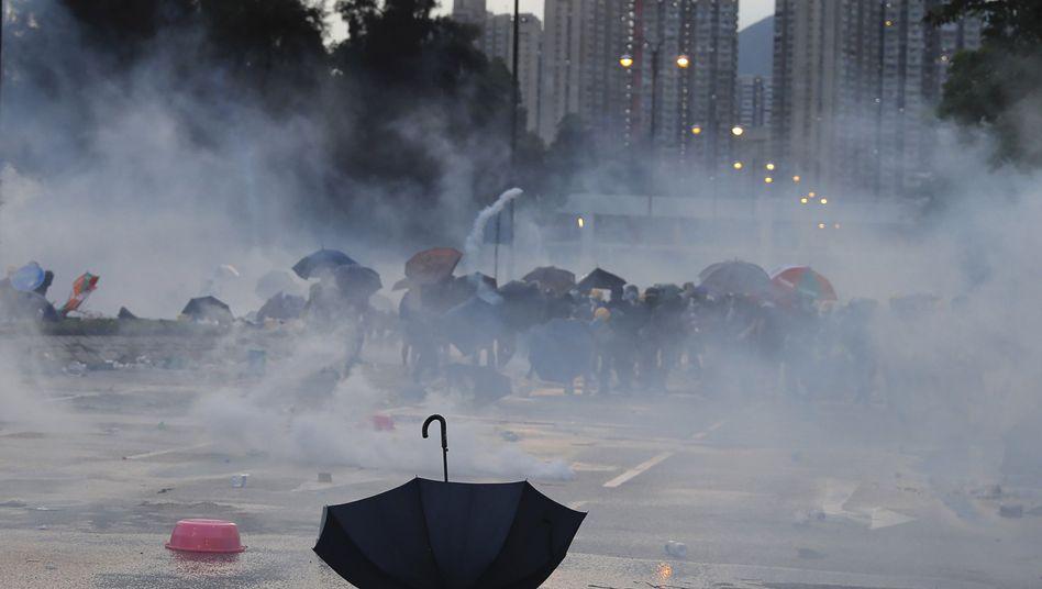 Mehr als 400 Menschen wurden bei den Protesten in Hongkong bereits festgenommen