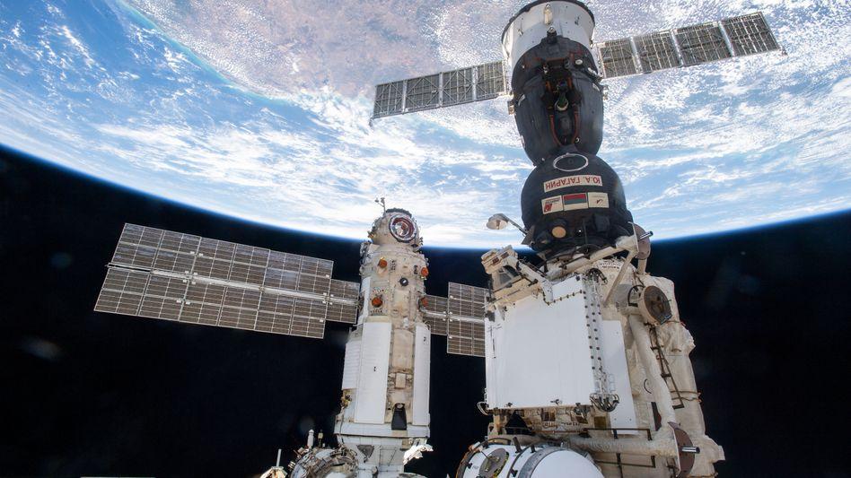 Internationale Raumstation ISS: Brände auf keinen Fall mit Wasser löschen