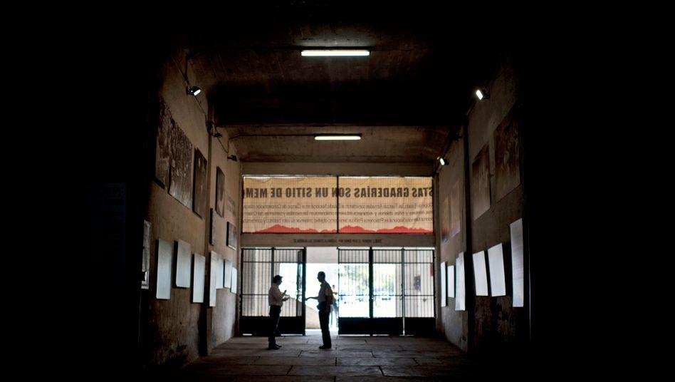 Diente während der Militärdiktatur als Gefängnis: das Stadion in Santiago de Chile