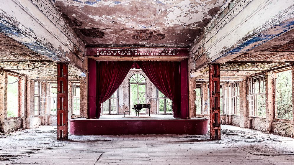 Grabowsee bei Berlin: In den Ruinen der Heilanstalt