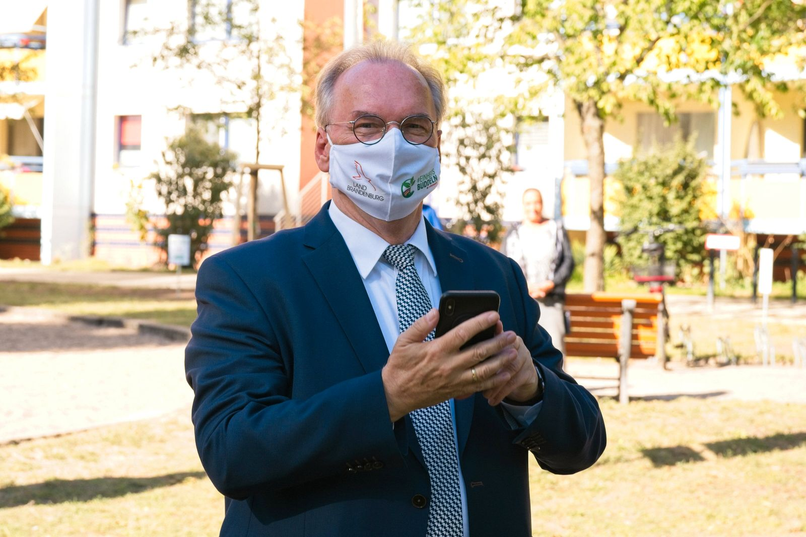 Potsdam GER, Potsdam, 18.09.20, Einheitsbuddeln Reiner Erich Haseloff - Ministerpraesident des Landes Sachsen-Anhalt, B
