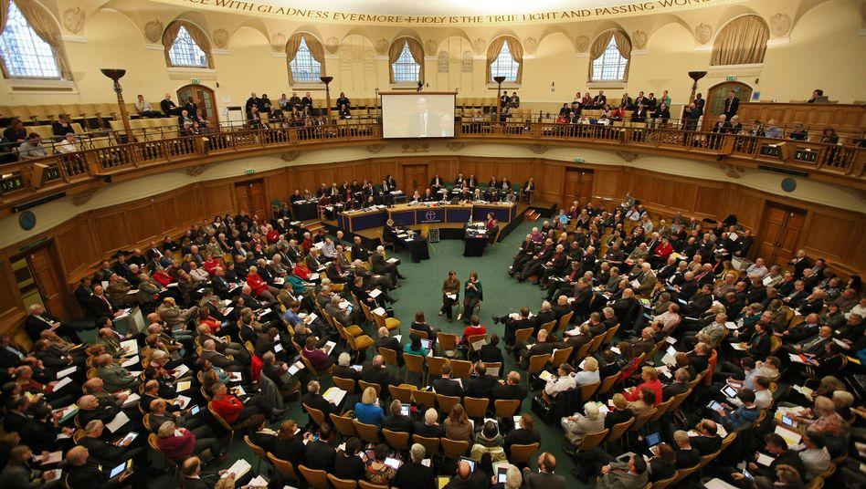 """Synode in London: """"Der Zug fährt voran"""""""