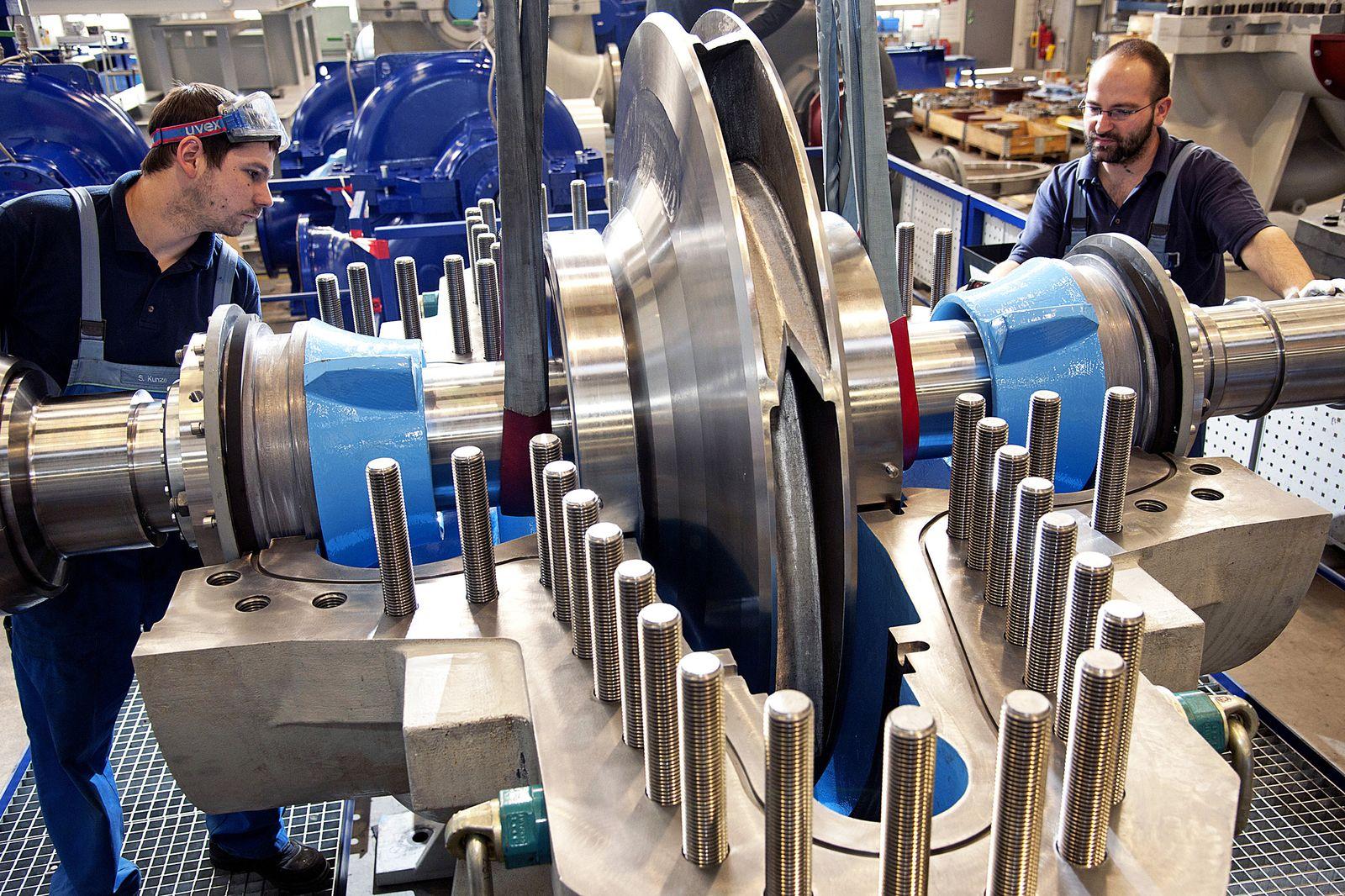 Deutschland Konjunktur / Wirtschaft / Industrie Maschinenbau