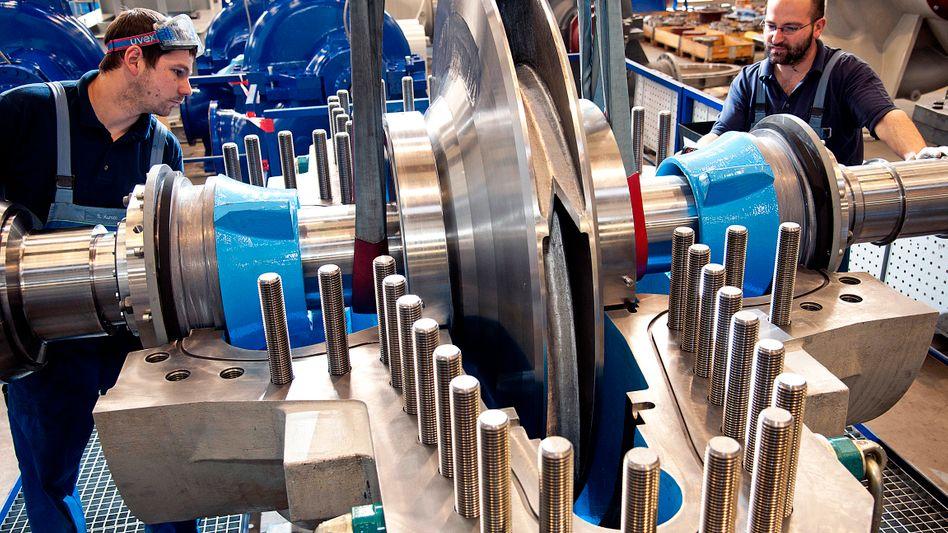 """Maschinenbau: """"Funktionierender Welthandel entscheidend"""""""