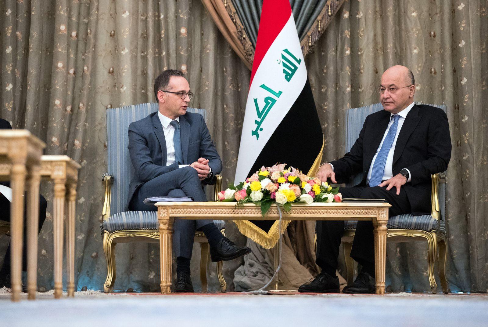 Außenminister Maas Irak