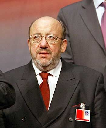 Belgischer Außenminister Louis Michel: Veto im Nato-Rat