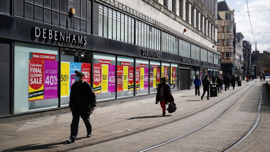Einkaufsstraße in Manchester (Archivbild)