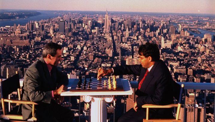 Über den Wolken: Die Schach-WM 1995 im World Trade Center