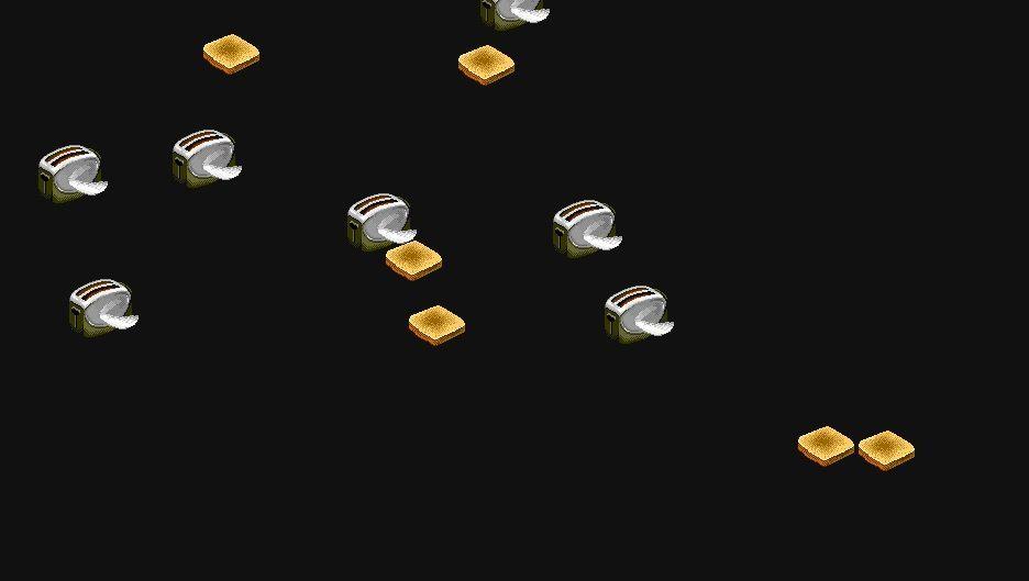 Geröstetes Brot im Anflug: Die legendären Flying Toaster im Webbrowser