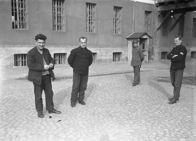 Sonnenburg, Max Hölz als Häftling