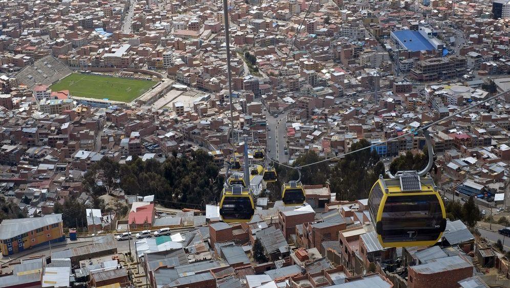 Mi Teleférico: Prestigeprojekt für den Präsidenten
