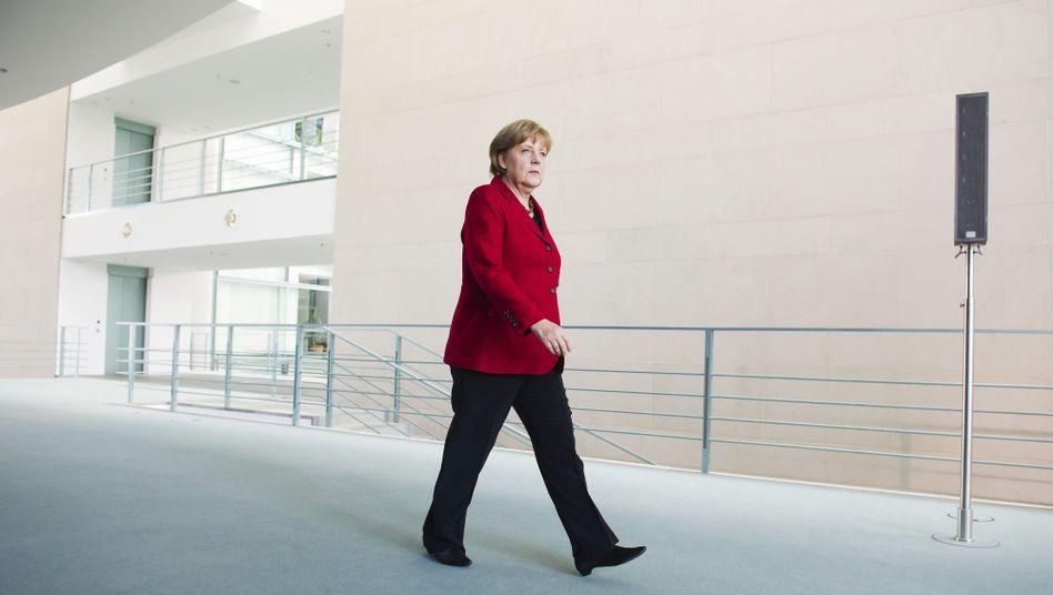 """Kanzlerin Merkel: """"Ich danke für ihre Aufmerksamkeit"""""""