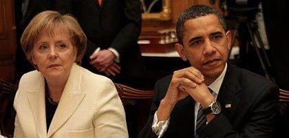 Angela Merkel and Barack Obama got on famously at the G-20 summit, apparently.