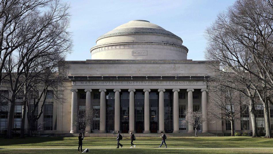 Campus des Massachusetts Institute of Technology: Die Eliteuniversität hatte Epstein eigentlich als Spender disqualifiziert