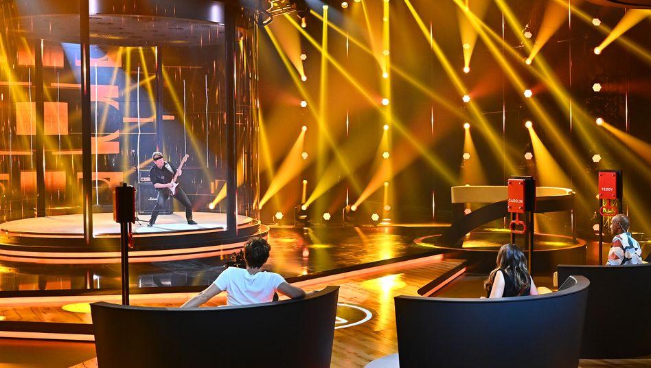 In der Show geht es nicht um die beste musikalische Darbietung, sondern um die Performance