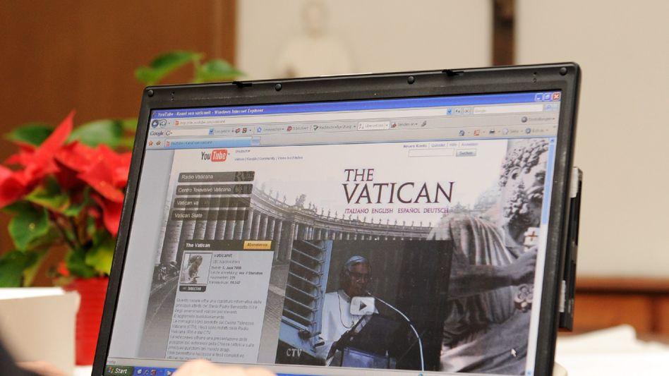 Oberster Hirte im Web: Papst Benedikt XVI. will, dass seine Brüder künftig bloggen