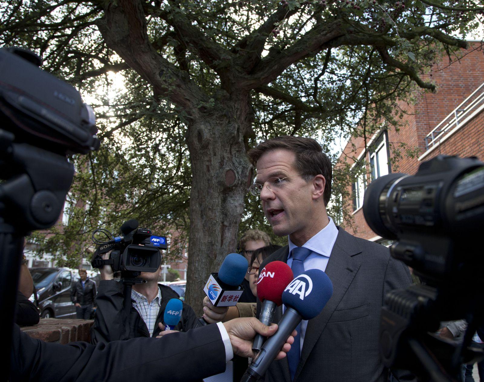 niederlande wahlen rutte
