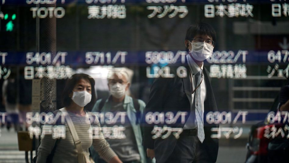 Aktienkurs-Anzeige ohne Aktienkurse in Tokio: Bislang schwerste Systempanne
