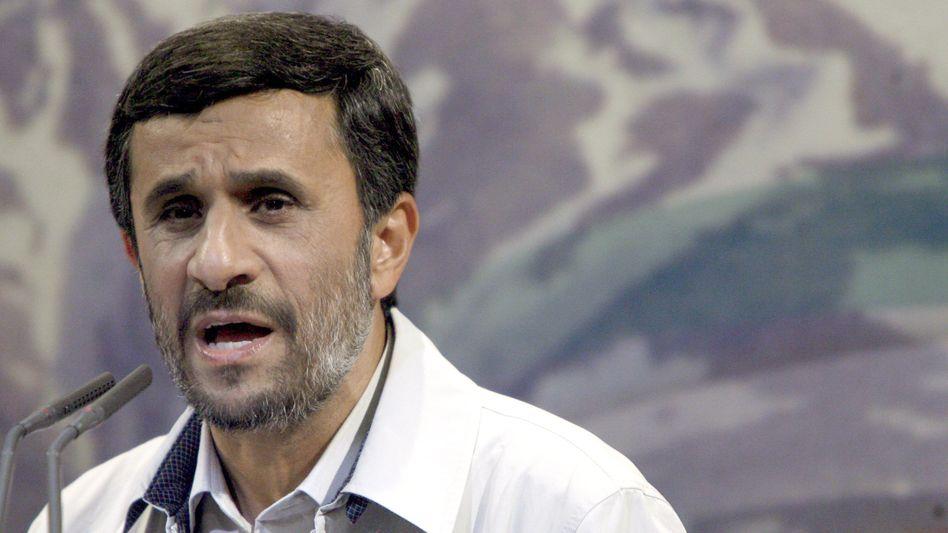 """Iranischer Präsident Ahmadinedschad: """"Ohrfeige für repressive Kräfte"""""""